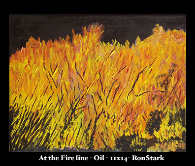 At the Fire Line - Ron Stark